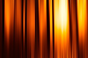 Vertical orange motion blur curtains with glow background