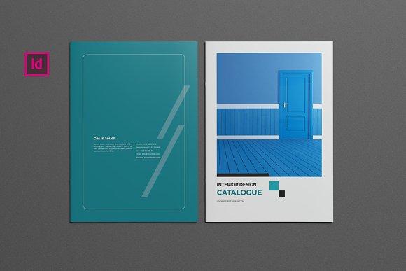 interior design catalog brochure templates creative market