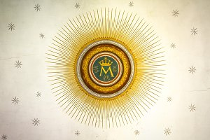 Monogram of the Blessed Virgin Mary