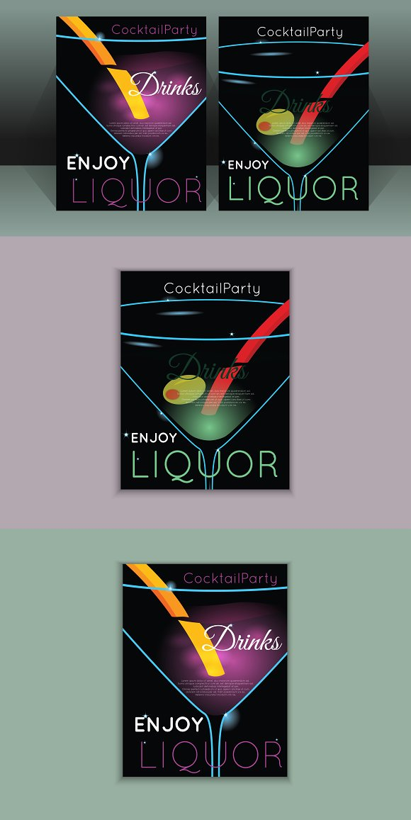 Template For Nightclub Or Party