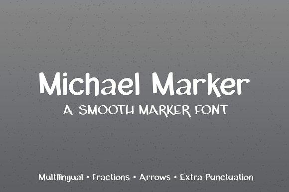 Michael Marker Font