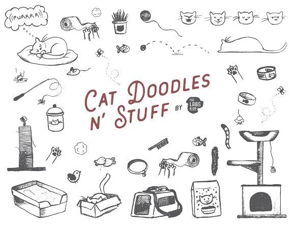 Cat Doodles N Stuff