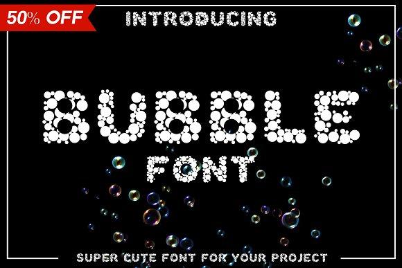 Bubble Round MultiPurpose Font