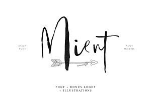 Mient Font + Bonus Illustration