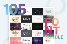 Huge Font Bundle • 98% off
