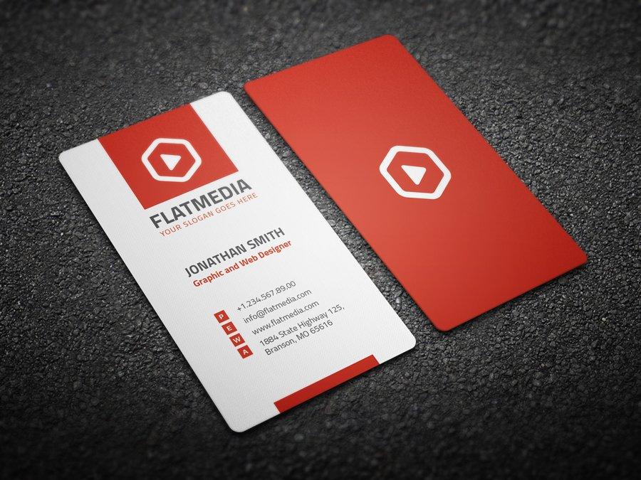 Corporate Business Card 9 ~ Business Card Templates ~ Creative Market