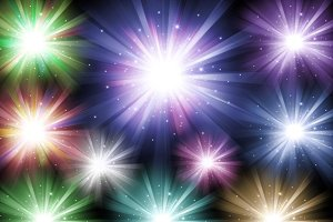 Light Bursts Clipart