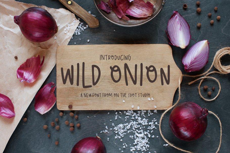 Best Wild Onion Vector