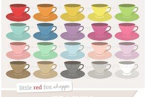 Teacup Clipart