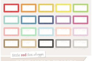 Rounded Rectangle Banner Clipart