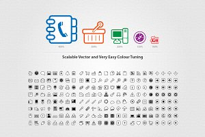 Super Mono Vector Icons