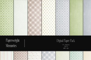 Patterned Paper - Faded Dreams