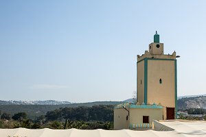 Mosque in Tangier Morocco Africa