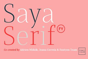 Saya Serif FY Light