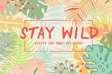 STAY WILD | Design Elements