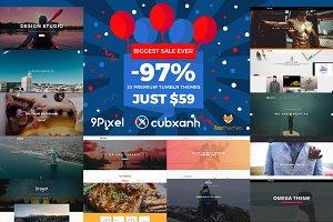 33 Premium Tumblr Themes - SAVE 97%