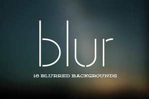 Blur: 16 Blurred Backgrounds