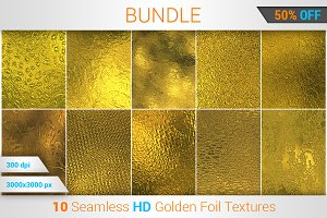 Golden Foil HD Texture Bundle (v 1)