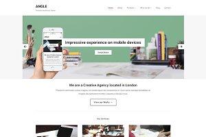 Angle - WordPress Portfolio Theme