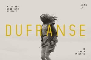 Dufranse | A Youthful Font Family
