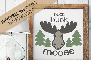 Buck Buck Moose cut file