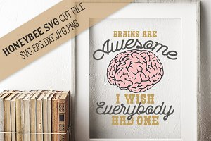 Brains are Awesome cut file