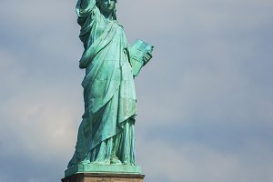 New York City.The Statue of Liberty