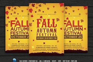 Fall Autumn Festival Flyer