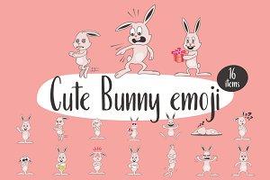 Cute Bunny emoji