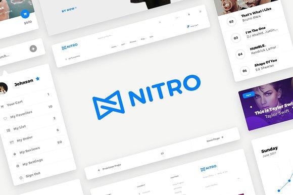 Nitro Web UI Kit