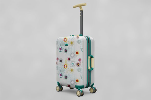 Bag Suitcase Travel Vol.1 MockUp