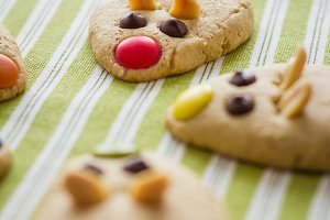 Cookies with mouse shaped