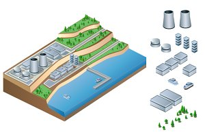 Industrial illustration