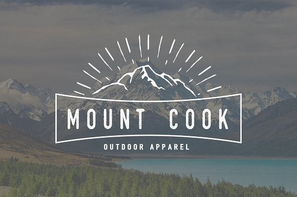 Mount Cook Logo Template