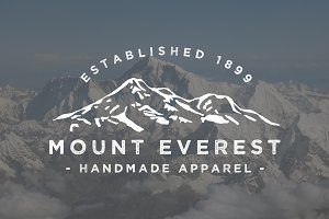 Mount Everest Logo Template