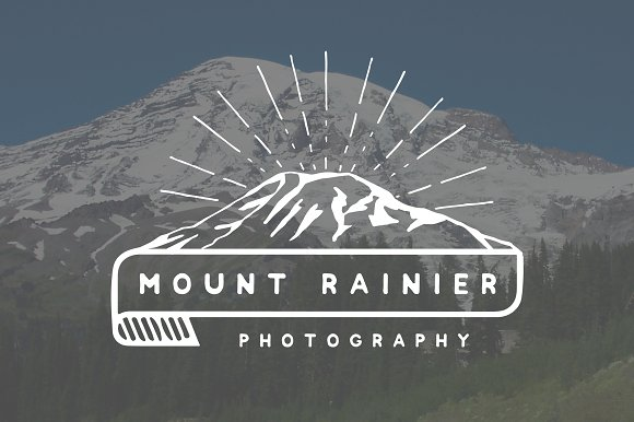 Mount Rainier Logo Template