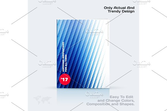 Business Vector Template Brochure Design Abstract Annual Report