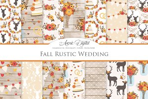 Fall Rustic Wedding Patterns