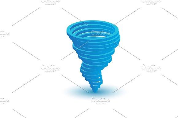 3D Tornado Symbol
