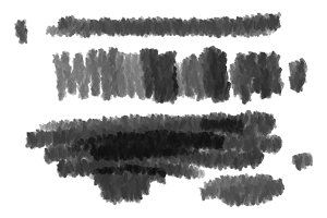 2 Crayon Brush Photoshop.