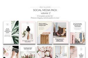 Pinterest Templates Vol 2