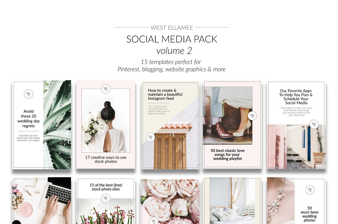 15 Eye-Catching Pinterest Templates to Make Your Boards