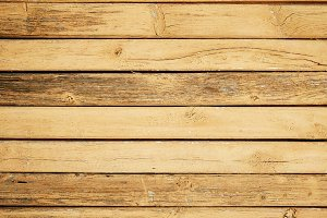Old painted wooden planks background