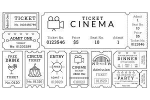 Ticket Templates Pack
