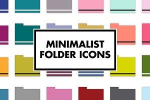 Minimalist Folder Icons