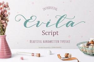 Evita Script