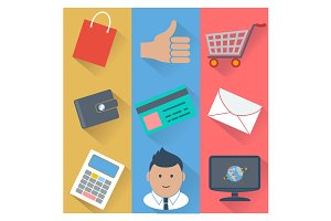 Online shopping and payment methods