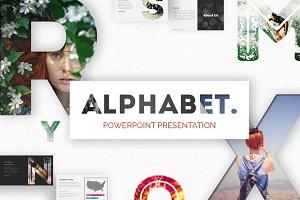 Alphabet | Powerpoint Presentation