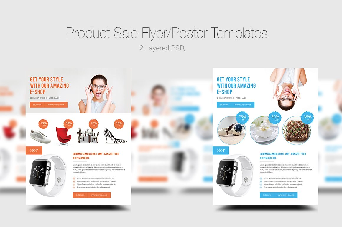 product flyer poster templates flyer templates on creative product flyer poster templates flyer templates on creative market