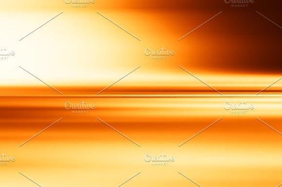 Horizontal Orange Motion Blur Surface Background